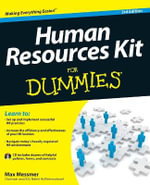 Human Resources Kit For Dummies - Max Messmer