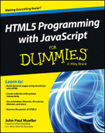 HTML5 Programming with JavaScript For Dummies - John Paul Mueller