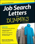 Job Search Letters For Dummies : For Dummies (Lifestyles Paperback) - Joyce Lain Kennedy