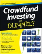 Crowdfund Investing For Dummies - Sherwood Neiss