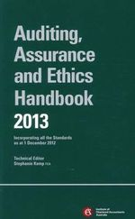 Chartered Accountants Auditing Assurance & Ethics Handbook 2013 + E-text Registration Card 2013 - ICAA (The Institute of Chartered Accountants in Australia)
