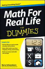 Math for Real Life For Dummies - Barry Schoenborn