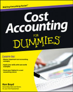 Cost Accounting For Dummies(R) - Kenneth Boyd