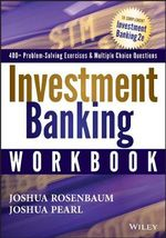 Investment Banking Workbook - Joshua Rosenbaum