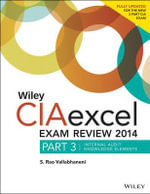 Wiley CIA Exam Review + Test Bank + Focus Notes : Internal Audit Knowledge Elements - Rao Vallabhaneni