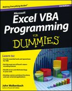 Excel VBA Programming For Dummies : For Dummies (Lifestyles Paperback) - John Walkenbach