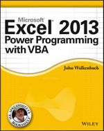 Excel 2013 Power Programming with VBA - John Walkenbach