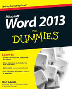Word 2013 For Dummies : For Dummies (Lifestyles Paperback) - Dan Gookin