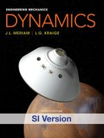 Engineering Mechanics Dynamics (SI Edition) + WileyPlus Registration Card : 7th Edition - Meriam