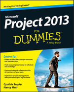 Project 2013 For Dummies : For Dummies (Lifestyles Paperback) - Cynthia Stackpole Snyder
