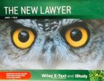 The New Lawyer Ebook and Istudy : 1st Edition - Brother James