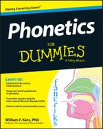 Phonetics For Dummies - William F. Katz