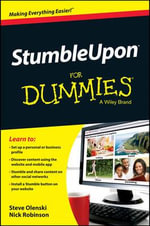 StumbleUpon For Dummies - Steve Olenski