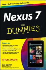 Nexus 7 For Dummies (Google Tablet) - Dan Gookin