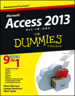 Access 2013 All-in-One For Dummies : For Dummies (Lifestyles Paperback) - Alison Barrows