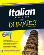 Italian All-in-One For Dummies - Consumer Dummies