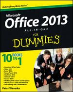 Office 2013 All-in-One For Dummies : For Dummies - Peter Weverka