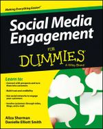 Social Media Engagement For Dummies - Aliza Sherman