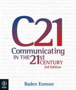 Communicating in the 21st Century - Baden Eunson