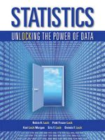 Statistics  : Unlocking the Power of Data + WileyPlus Registration Card : 1st Edition - Lock Morgan