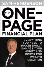 The One Page Financial Plan - Sam Henderson
