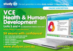 Studyon Vce Health and Human Development Accreditation Period 2014-2017 Units 3 & 4 2e & Booklet - Pamela Williams