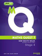 Maths Quest 7 for New South Wales Australian Curriculum Edition & eBookPLUS - Smith
