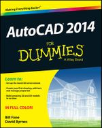 AutoCAD 2014 For Dummies : For Dummies (Lifestyles Paperback) - Bill Fane