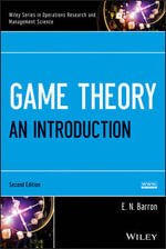 Game Theory : An Introduction, Set - E. N. Barron