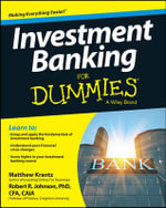 Investment Banking For Dummies(R) - Matthew Krantz
