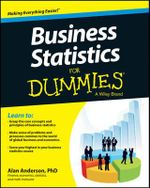 Business Statistics For Dummies : For Dummies - Alan Anderson
