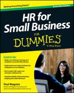 HR for Small Business for Dummies, Australian Edition - Paul Maguire