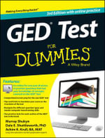 GED Test For Dummies (With Free Online Practice Tests) - Murray Shukyn