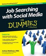 Job Searching with Social Media For Dummies - Joshua Waldman