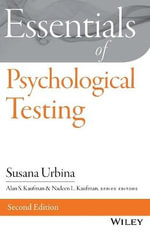 Essentials of Psychological Testing - Susana Urbina