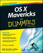 OS X Mavericks For Dummies : For Dummies - Bob LeVitus