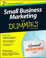 Small Business Marketing For Dummies - Paul Lancaster