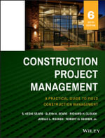 Construction Project Management - S. Keoki Sears