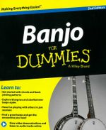 Banjo For Dummies : For Dummies - Bill Evans