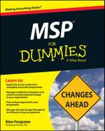 MSP For Dummies - Alan Ferguson