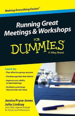 Running Great Workshops & Meetings For Dummies(R) - Jessica Pryce-Jones