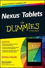 Nexus Tablets For Dummies : For Dummies - Dan Gookin