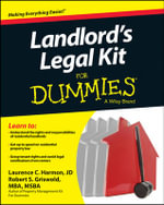 Landlord's Legal Kit For Dummies : For Dummies - Robert S. Griswold