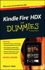 Kindle Fire X for Dummies, Portable Edition - Muir
