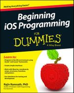 Beginning IOS Programming For Dummies - Rajiv Ramnath
