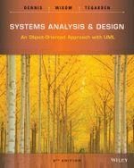 Systems Analysis and Design : An Object Oriented Approach with UML - Alan Dennis