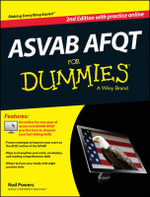 Asvab AFQT For Dummies, with Online Practice Tests - Rod Powers