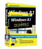 Windows 8.1 for Dummies Book + DVD Bundle : For Dummies - Andy Rathbone