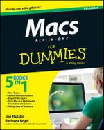 Macs All-in-one For Dummies : For Dummies - Joe Hutsko