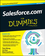 Salesforce.com For Dummies - Tom Wong
